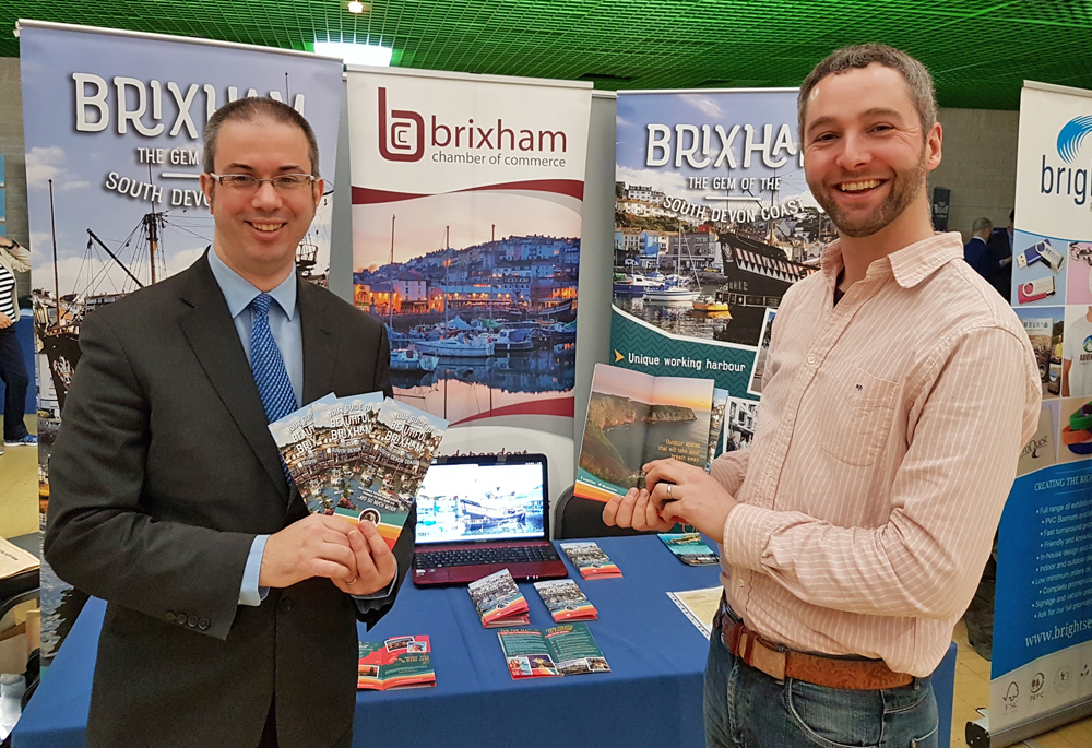 Love Brixham at Tourism Exhibition 2018