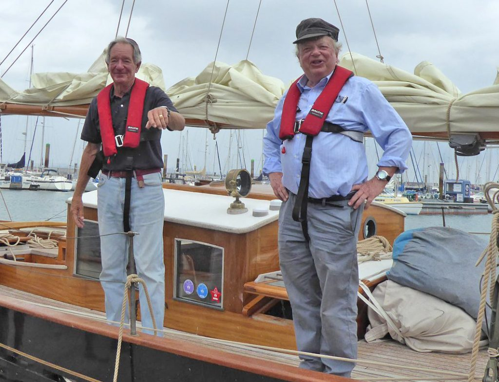 TV news anchors drop in to Brixham