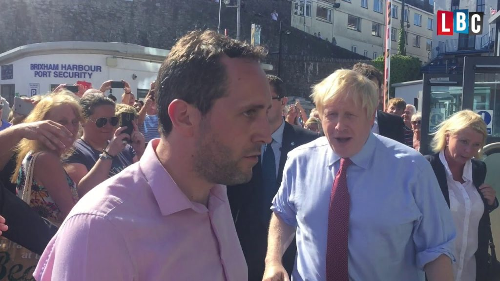Boris Johnson's surprise Brixham visit