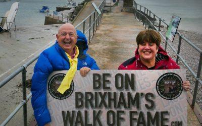 200 sign up for Brixham's Walk of Fame
