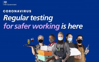 Register by 12 April for free rapid lateral flow coronavirus tests for your employees